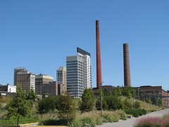 Birmingham, Alabama Skyline (bluerim) Tags: alabama birminghamal railroadpark