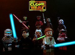 Star Wars : The Clone Wars - Season 5 Premieres Tomorrow! (MGF Customs/Reviews) Tags: season star lego 5 vizsla pre darth wars clone maul commando savage deathwatch opress