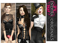 Indyra Originals Fall 2012 Ad Campaign (indyra_seigo) Tags: life fall film fashion vintage glamour noir metro antique vampire femme gothic victorian formal originals fantasy second fallon couture parisian fatal 2012 steampunk bloodlines garbo aristocrat diabolique indyra
