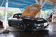 Rainy Day at the Track (BROWNasthecolorJASONasthekiller) Tags: wet rain japan race speed track nissan racing course explore turbo minami raining ebisu circuit sideways drift honshu intresting