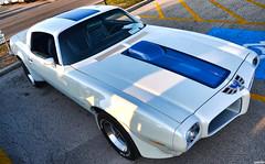 1971 Pontiac Firebird Trans Am (Chad Horwedel) Tags: blue white classic car illinois firebird pontiac transam downersgrove pontiacfirebirdtransam cozzicorner 1971pontiacfirebirdtransam