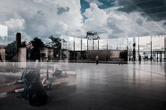 Il cielo di Mies (luce_eee) Tags: berlin architecture reflected miesvanderrohe berlino neuenationalgalerie ilcielosopraberlino newho rinaciampolillo