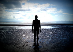 Another Place at Crosby Beach (chrisbell50000) Tags: shadow sculpture man reflection men beach water modern naked nude lomo sand iron place bare anthony another sculptures pornographic gormley crosby merseyside undressed blundellsands chrisbellphotocom