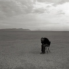 Self, Alvord Desert (austin granger) Tags: film oregon self square hands empty playa despair alvorddesert gf670 austingranger