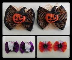 "Tema: Halloween (Cludia... ""Enfeita seu Pet"") Tags: pet co shop g m seu gato cachorro fuxico p gravata cludia cadela tamanho lao nico gravatinha enfeita laarote"