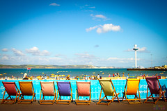 Deck Chairs (Fairy_Nuff (new website - piczology.com!)) Tags: sea holiday beach chairs deck esplanade promenade dorset weymouth eight varied msh0513 msh05133