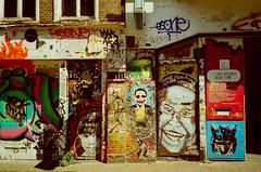 street art (f x d b b b t) Tags: summer holland netherlands amsterdam iso100 europe ct olympus crossprocessing agfa 2012 precisa μmjuii