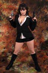 The name is Bond! Arielle Juiette Bond! (Drumdude Bill) Tags: portrait beautiful arielle madisonwisconsin жена nikond700 гърди nikkor2470mmf28ged черено doumtekphotography представисичесижена