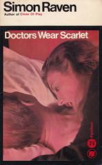 Doctors Wear Scarlet by Simon Raven (woolrich01) Tags: vintage book vampire paperback cover horror 1960s pantherbooks ukedition simonraven vintagepaperback doctorswearscarlet