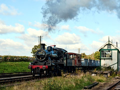 GCR 6-10-2012 04 (brianaw2010) Tags: train engine railway steam gala quorn greatcentralrailway gcr 78019 windcutter brstandardclass2