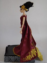Mother Gothel Disney Villains Designer Collection Doll - Personal Photos - Deboxed - Full Right Side View (drj1828) Tags: doll personal photos limitededition disneystore 2012 tangled displaycase poseable uncovered deboxed mothergothel disneyvillainsdesignercollection