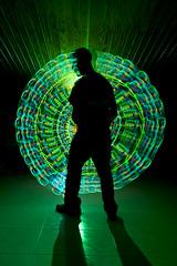 (Salva Mic) Tags: lightpainting flash yo nocturna hilodeluz