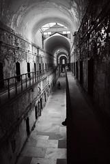 Eastern State Penitentiary (Sabreur76) Tags: blackandwhite bw philadelphia pennsylvania haunted pa jail corrections hdr easternstatepenitentiary penitentiary vicen photomatix feli sabreur76 vicenfeli