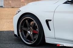 RAYS VOLK Racing TE37SL Pressed Graphite - BMW 4 Series Grancoupe (RavSpec) Tags: rays volk racing te37sl pressed graphite bmw 4 series grancoupe