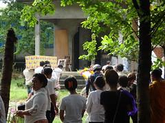DSC00183 (redlandman) Tags: cambodia kampuchea wat buddhist buddism funeral poipet