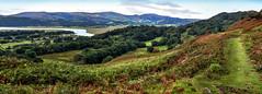 Round Wales Walk 43 - Looking into Snowdonia National Park (Nikki & Tom) Tags: roundwaleswalk walescoastpath wales ceredigion uk river dovey hills path track views
