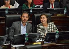 En sesión junto a Maximiliano Ferraro.