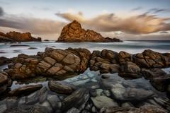 Still Waters (Crouchy69) Tags: sunrise dawn landscape seascape ocean sea water coast rocks clouds sky sugarloaf rock yalingup dunsborough western australia