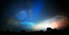 Rainbow (Scorpion-66) Tags: rainbow temporale thunderstorm nikon nuvole clouds campagna country treviso preganziol