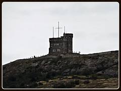 Cabot Tower, atop Signal Hill (Will S.) Tags: mypics stjohns newfoundlandandlabrador newfoundland canada signalhill cabottower