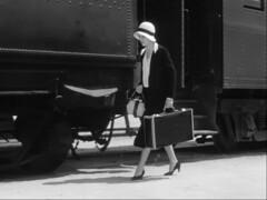 unnamed (annacarvergay) Tags: hat purse bag luggage suitcase vintage fashion train unnamed namethatfilm