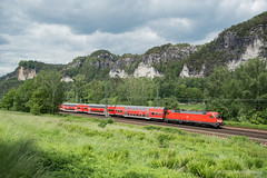 DB REGIO - KURORT RATHEN (Giovanni Grasso 71) Tags: db regio kurort rathen br182 siemens taurus locomotiva elettrica giovanni grasso nikon d610