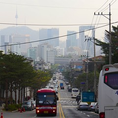 Bukchon-ro (Travis Estell) Tags: bukchonhanokvillage bukchonro jongno jongnogu korea nseoultower n republicofkorea seoul southkorea