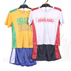 Summer Kids Clothing Sets Brazil And England Boys Sportwear Jersey Set 3-6 Years (fashionkids) Tags: wholesale kidswearsupply wholesalebaby brandsupply babywearwholesale usa european fashion europestyle style new collection kidsclotheschina fashionkids gap ralph laurence polo disneys old navy aber crombie timberland kids oshkosh dkny jeep guess calvin klein gymboree carters boss wear zara dc gucci puma quick silver lacoste diesel moie hackett london laura ashley berberry nissen dg junior elle dior levis lady bird fisherprice dora petel pumpkin patch target esprit next tommy