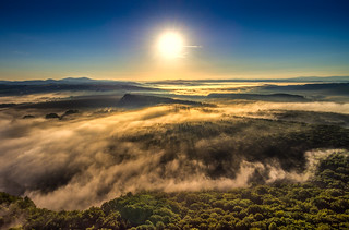 Sunrise from above