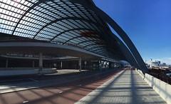 Amsterdam Central Station new north entrance (Netherlands 2016) (paularps) Tags: arps paularps netherlands noordwijk amsterdam summer zomer europa europe nature culture travel reizen 2016