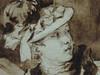 FRAGONARD Jean-Honoré,1775 - La Lettre, La Conversation espagnole (Chicago) - Detail -f (L'art au présent) Tags: art painter details détail détails detalles painting paintings peinture peintures 18th 18e peinture18e 18thcenturypaintings 18thcentury detailsofpainting detailsofpaintings tableaux chicago fragonard jeanhonoré jeanhonoréfragonard lettre letter conversation conversationespagnole laletter galanterie gallantry personnes figures people beauté beauty charme charm man homme femme woman jeunefemme women youngwoman youngman robe dress grace grâce graceful elegantwoman elegance canapé sofa rideau curtain chapeau hat dessin disegno drawing wash lavis mode fashion fashionable lady dame demoiselle miss museum