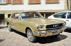 Ford Mustang 1965 21.8.2016 2018 (orangevolvobusdriver4u) Tags: 2016 archiv2016 car auto klassik classic vintage oldtimer schweiz switzerland wiedlisbach fordusa usa ford mustang 1965 fordmustang fordmustang1965