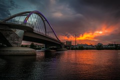 lowry bridge (selo0901) Tags: lowry bridge sunset