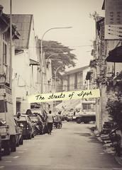The streets of Ipoh (melanie may chan) Tags: old streets vintage ipoh backlane perak
