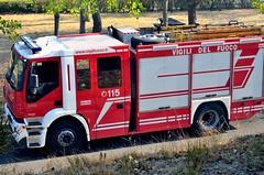 Italian Fire Service Iveco Magirus Eurofire Stralis AT400 (Gianluca Prioli) Tags: fire firefighter fires bomberos pompiers bombeiros pompieri     antifire    brandweerlieden