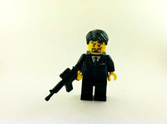 OMC HIT MAN (bugboy3000) Tags: lego brickarms brickwarrior brickarmy brickarmycom brickwarriors