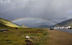 遇见彩虹,还是双道的!