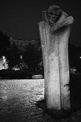 Đuro Đaković B&W (michalfabik) Tags: bw statue sarajevo skenderija đuro đaković
