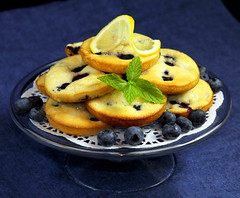 Lemon/Blueberry Cream Cheese Breakfast Cakes (IrishMomLuvs2Bake) Tags: food cakes cheese breakfast fun lemon cream sweets bluberries blueberrycakes
