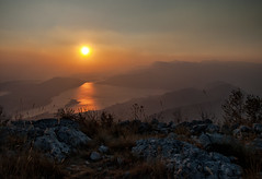 Bay of Kotor, Lovcen (hopetorture) Tags: sunset nature colours d70 1855 adriatic montenegro kotor crnagora lovcen bayofkotor