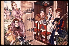 Sukkot (Center for Jewish History, NYC) Tags: paintings sukkot jewishholidays arthurszyk