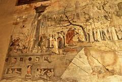 Der Karmeliterorden wird 1238 aus dem Heiligen Land ausgewiesen (S. Ruehlow) Tags: frankfurt altstadt palstina kloster innenstadt fresko speisesaal stadtarchiv refektorium eretzisrael karmeliter heiligesland knstlerjergratgeb kaseintemperafarben