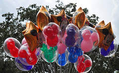 I'll take them all !! (littlestschnauzer) Tags: blue red summer vacation holiday color green kids balloons children mouse gold star orlando colorful colours florida many floating disney mickey helium hollywood bunch minnie colourful wdw waltdisneyworld studios 2012