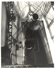 Photograph Looking Down in Emergency Control Station of a Dirigible , ca. 1933 (The U.S. National Archives) Tags: aircraft aviation zeppelin airship usnavy usn compass goodyear dirigible lighterthanair navalaviation unitedstatesnavy shipswheel goodyearzeppelin ussakron usnationalarchives zrs4 ussakronzrs4 nara:arcid=6708566 goodyearzeppelincorporation