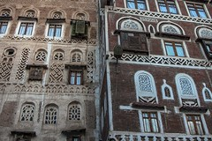 ornate window in the old Sana'a, yemen (anthony pappone photography) Tags: world pictures travel windows architecture digital canon lens photography photo republic foto image picture culture palace best unesco arab arabia yemen fotografia sanaa ramadan reportage photograher sejima suk finestre arabo yemeni phototravel yaman arabie arabiafelix arabieheureuse  arabianpeninsula        alyaman yemenpicture yemenpictures ornatewindows eos5dmarkii   carvedwindows  mediorient