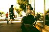 urban wasteland (JoséeGulayetsPhotography) Tags: city urban black girl dreadlocks dress mask boots goth tattoos gas glam gasmask piercings dreads dreadlock alternative chemical wasteland