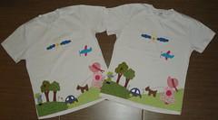 Jardim Sunbonnet (Kaasf) Tags: artesanato artesanal patch patchwork camiseta customizada estilizada patchcolagem caamis patchapliqué patchapliqueé