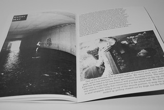 Nighted Life Zine ((one of Henry May's spreads))