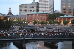 Crowds gather for WaterFire