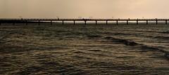 Wasserbrcke (tobfl) Tags: world ocean life camera blue sea lake art beach water beauty canon landscape happy eos coast photo seaside nikon wasser europe flickr mood foto sad shot shots no picture best shore dslr iphone welt seascpae nonikon 60d noiphone iphonegrapy noiphoneography